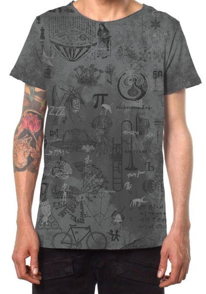T-Shirt Knot   grau