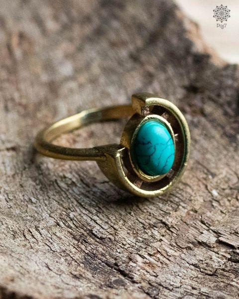 Ring Rose   Türkis