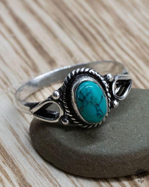 Ring Ferun silber | Türkis