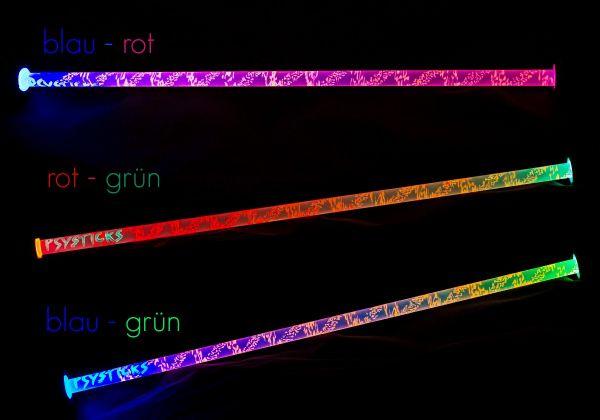 Psysticks 2.0 | LED Flowerstick - UV aktiv