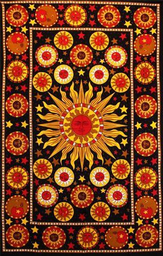 Wandtuch | Überwurf - Medieval Sun