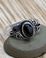 Ring Irmin | Obsidian