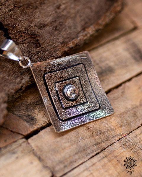 Ohrringe Brass silver | Whirl