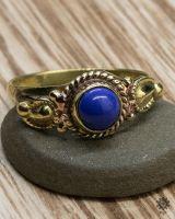 Ring Hazel | Lapislazuli