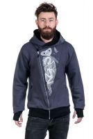 Jacke • The Eye Men • eco | fair | vegan - grey