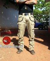 Cargo Hose Bonesaw khaki