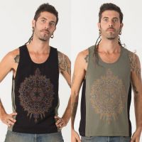 Tank Top Mexica | black green