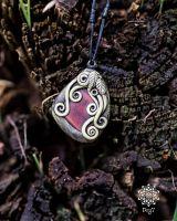Amulett | Halskette - Tigerauge #3