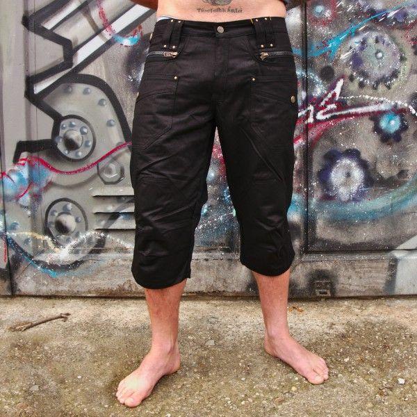 3/4 Shorts Fusion black