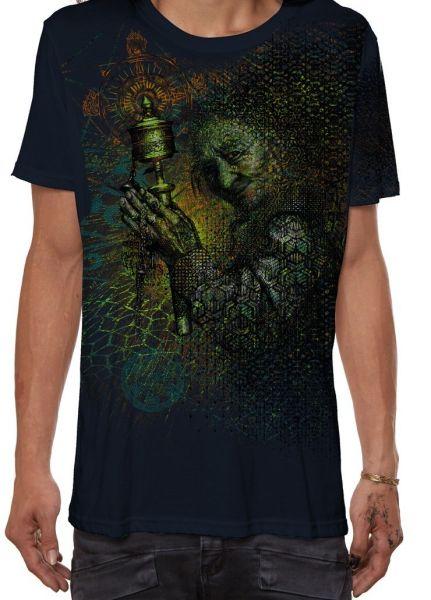 T-Shirt Guess What | dunkelblau