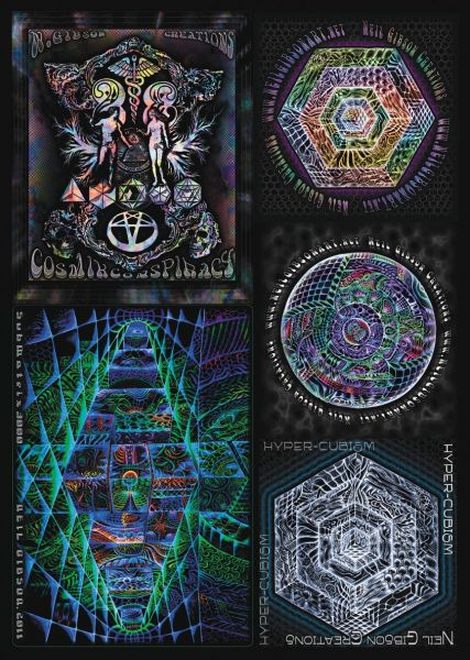 Stickerpack No1 by Neil Gibson - 5 Sticker