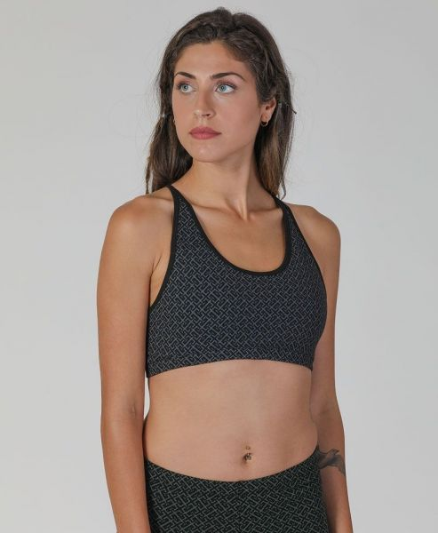 Yoga Top In-Out | schwarz