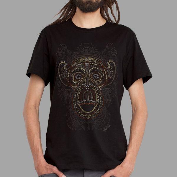 T-Shirt T? Moko black | UV-aktiv