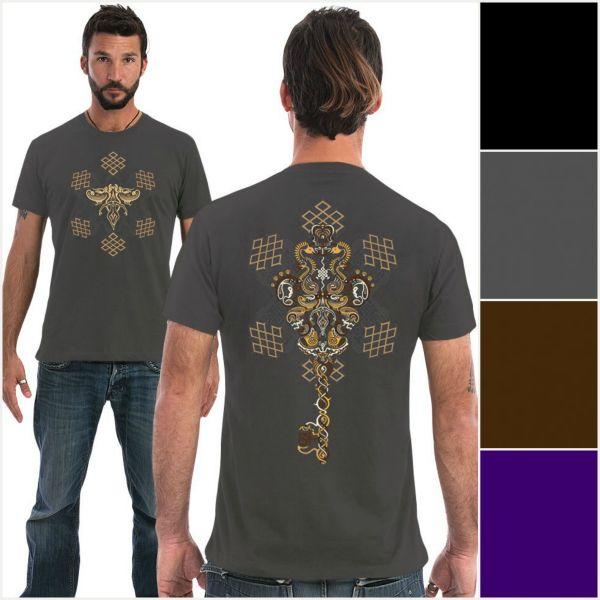 T-Shirt Om On Key