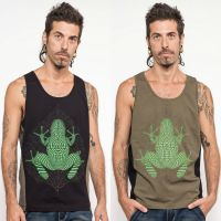 Tank Top Sapo Kambo | black green