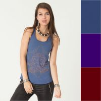 Top Anahata | blue | purple | wine