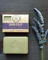 Oliven - Lorbeeröl - Seife | Lavendel