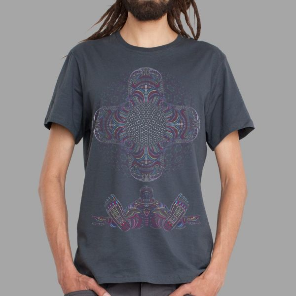 T-Shirt DMT HD grey | UV-aktiv