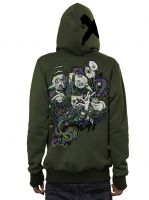 Kapuzenjacke Switcher Hood | olive