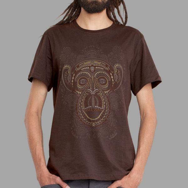 T-Shirt Tā Moko brown | UV-aktiv