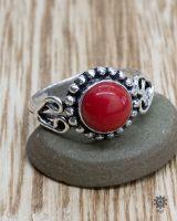 Ring Frowein | Koralle-Imitat