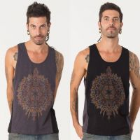 Tank Top Mexica | black grey