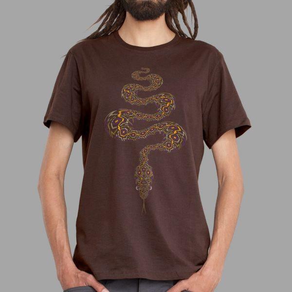 T-Shirt Anakonda brown | UV-aktiv