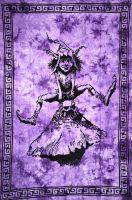 Wandtuch | Bettüberwurf Kobold lila