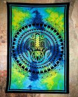 Wandtuch | Dekotuch - Hand der Fatima - batik