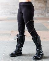 Leggings Zip | schwarz