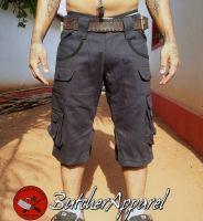 Cargo Shorts | Bonesaw schwarz