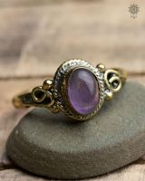 Ring Alrun Oval | Amethyst
