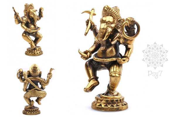 Messingfigur | Ganesha