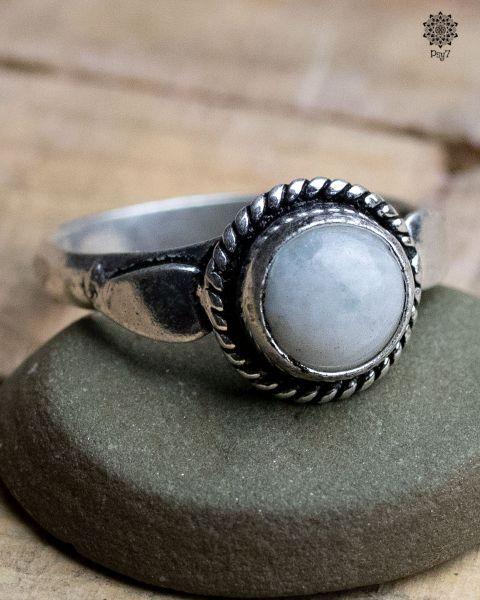 Ring Luna | Calcit