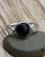 Ring Violet | Obsidian