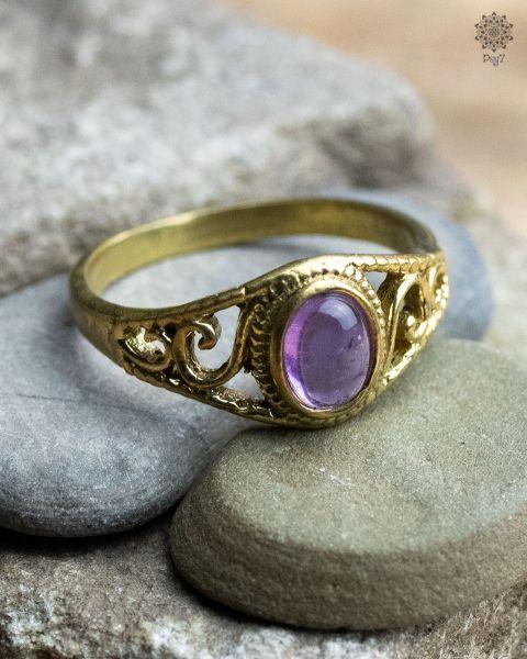 Ring Pileago   Amethyst
