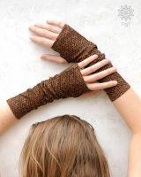 Armstulpen - Handstulpen | Sayagata goldenbrown