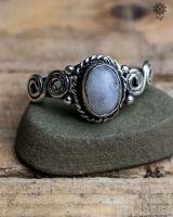 Ring Oda silber | Bergkristall