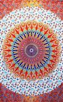 Wandtuch - Bettüberwurf - Rising Mandala