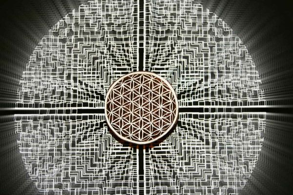 Holzstempel | Blume des Lebens