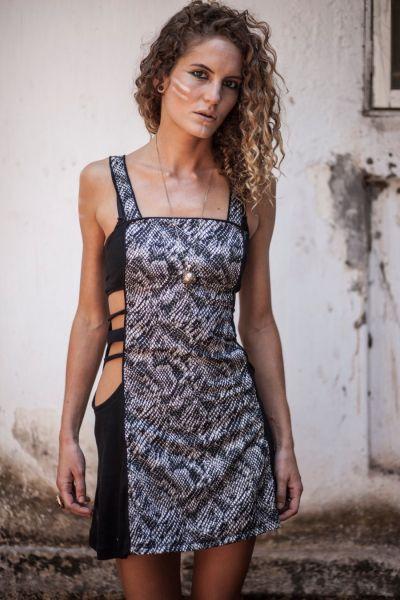 Kleid Open Side   cobra