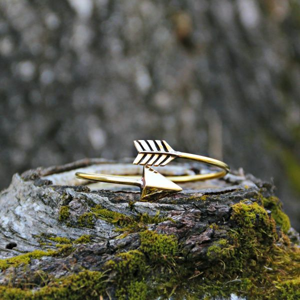 Armreif | Messing | Golden Arrow