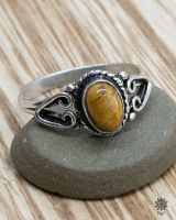 Ring Talia | Tigerauge
