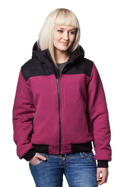 2 in 1 Winterjacke • Wendejacke Girl • eco | fair | vegan - Burgund