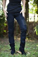 Serial Pants | Black Denim