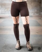 Leggings Suspender | braun
