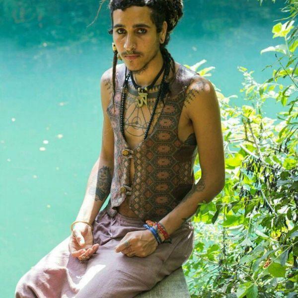 Weste Mowgli | eARTH | bLACK & wHITE