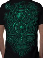 T-Shirt Night Vision Black