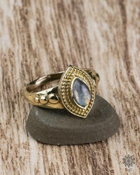 Ring Albin | Labradorit
