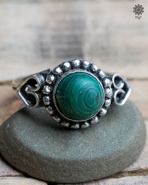 Ring Vayu | Malachit